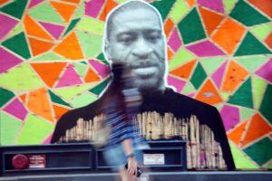 George Floyd Mural, New York City, 2020