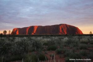 Ayer's Rock at Sunrise , Australia